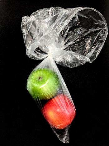 Obst in Tüten