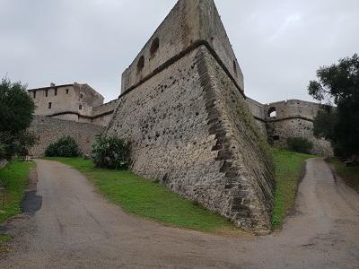 Festungsanlage Fort Carré von vorne